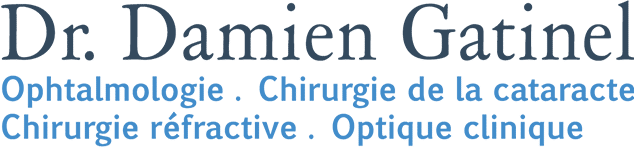 Dr. Damien Gatinel, Ophtalmologie - Chirurgie de la cataracte, Chirugie rfractive - Optique clinique