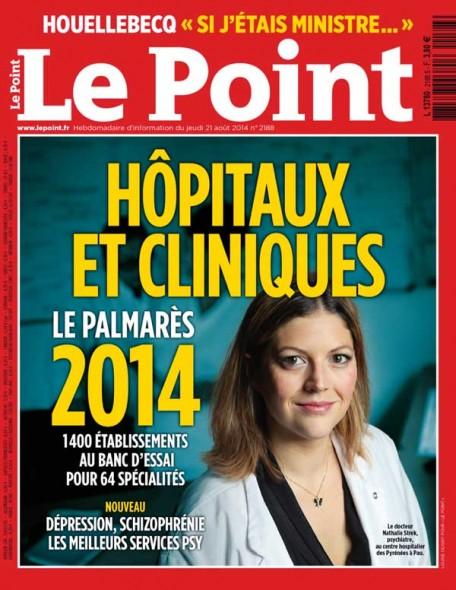 classement hôpitaux le Point 2014