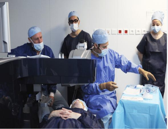 Dr. Damien Gatinel LASIK surgery