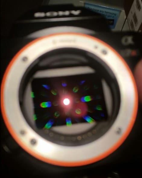 diffraction capteur