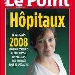 Classement le Point Hopitaux 2008 couverture