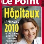Classement le Point Hopitaux 2010 couverture