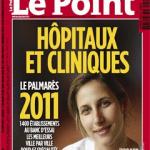 Classement le Point Hopitaux 2011 couverture