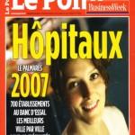 Classement le Point hopitaux 2007 couverture