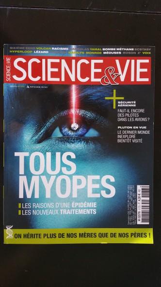 couverture Science et Vie Juin 2015
