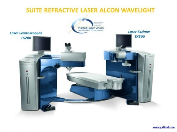 suite refractive alcon wavelight laser fs200 EX500