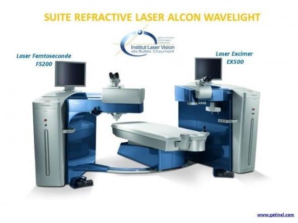 suite refractive alcon wavelight laser fs200 EX500