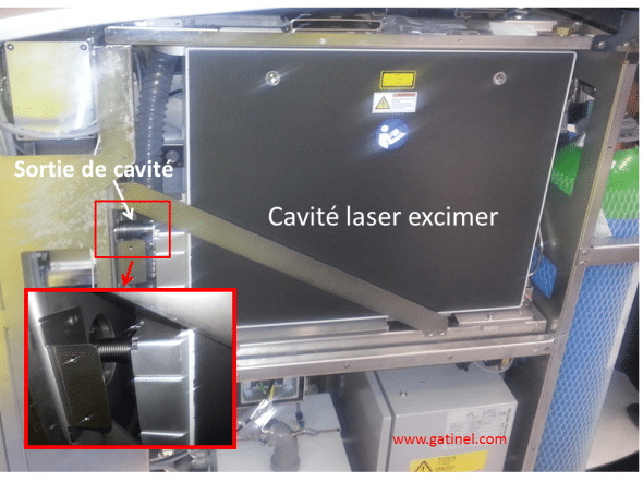 excimer laser cavity
