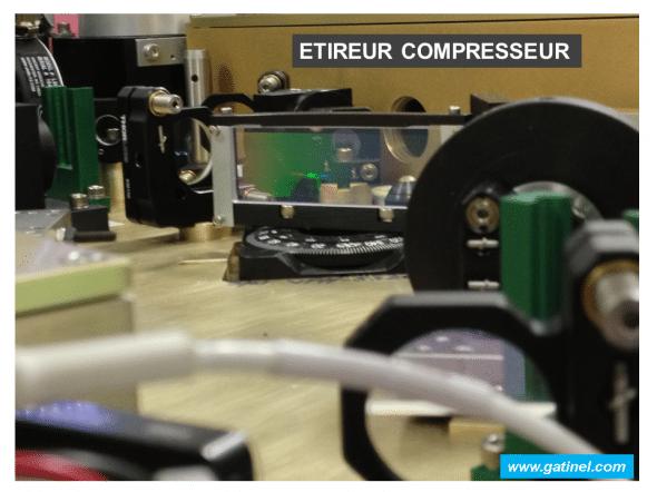 etireur compresseur laser femtoseconde