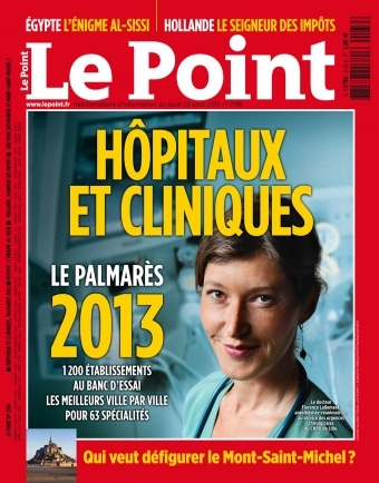 Le point classsement hopitaux cliniques 2013