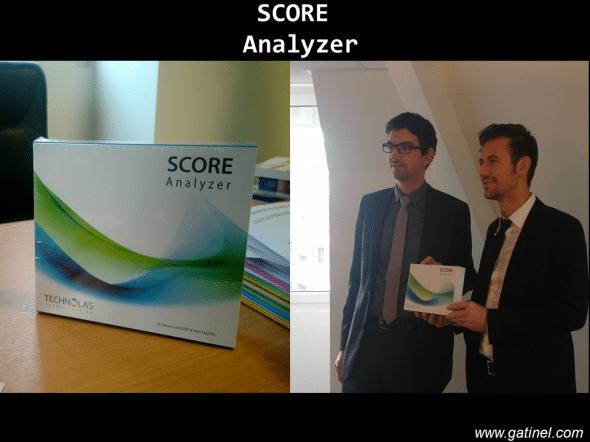 logiciel SCORE Analyzer