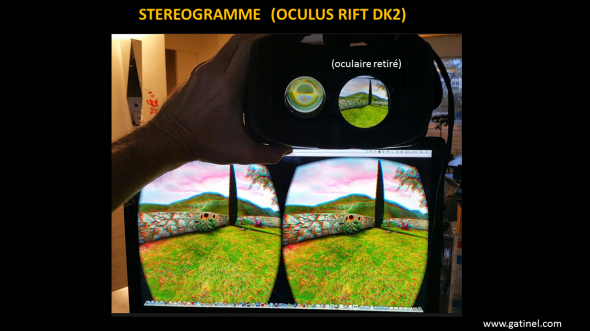 oculus Rift Stéréogramme