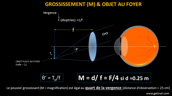 grossissement loupe.