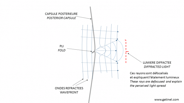 flap fold diffraction