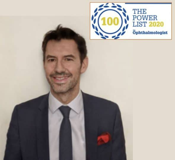 Dr Damien Gatinel 2020 powerlist the ophthalmologist
