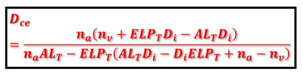 Corneal emmetropizing power formula