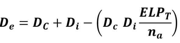 Gullstrand equation in a thick eye model